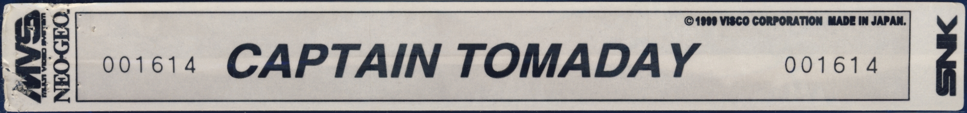 Captain tomaday us label.jpg