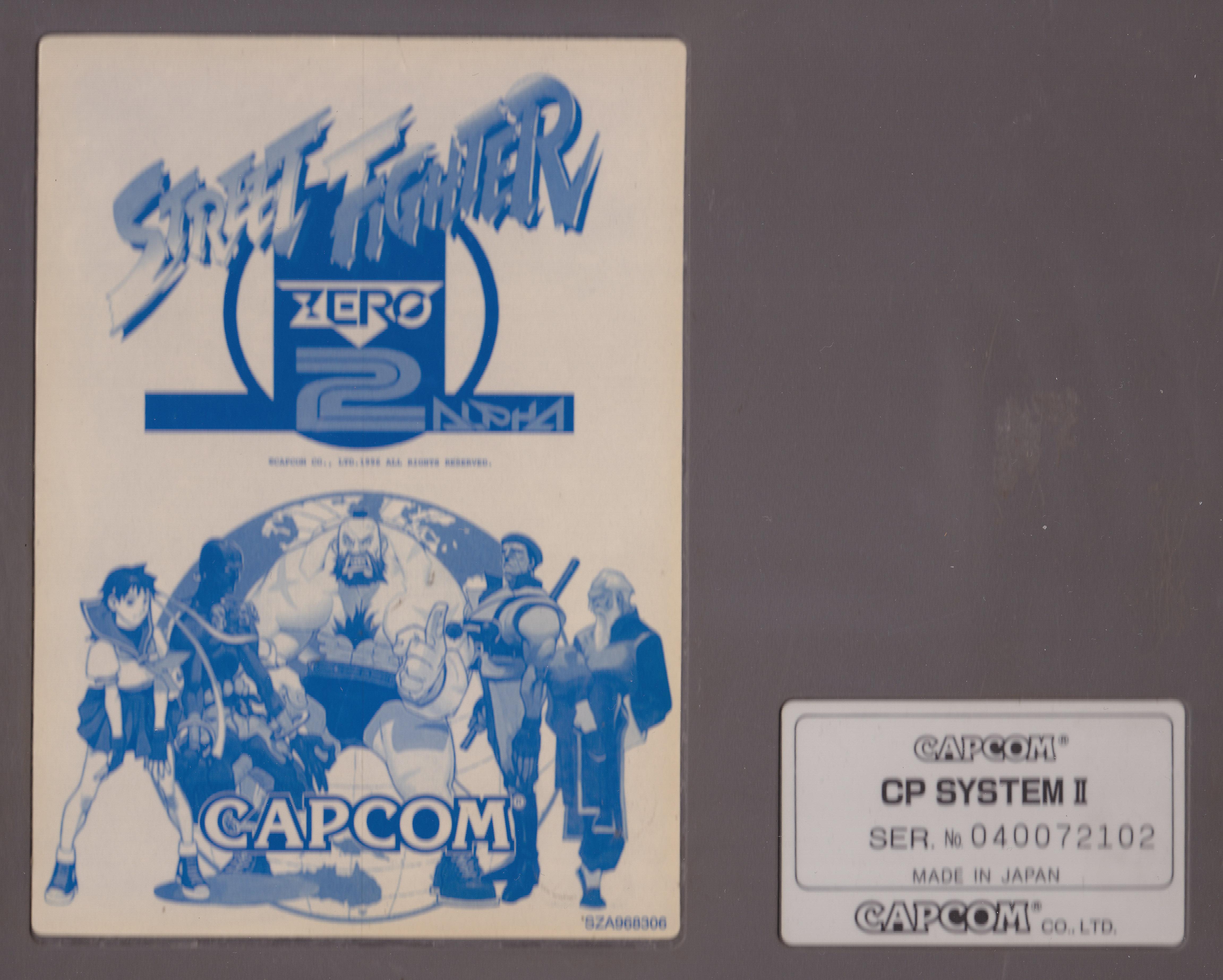 Cps2 Street Fighter Alpha 2 Mvs