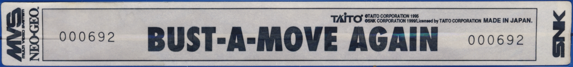 Bust a move again us label.jpg